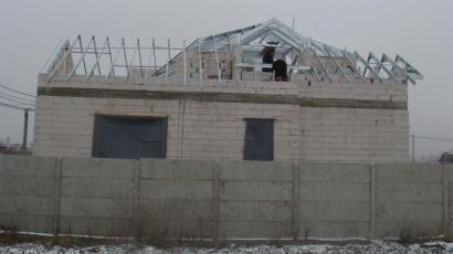 Крыша коттеджа Киевская обл. с. Гатне