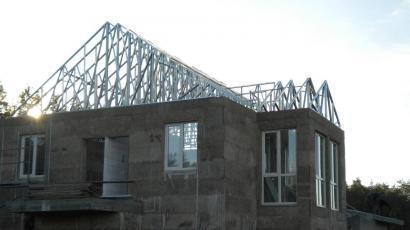 Крыша коттеджа Киевская обл. с. Мощун