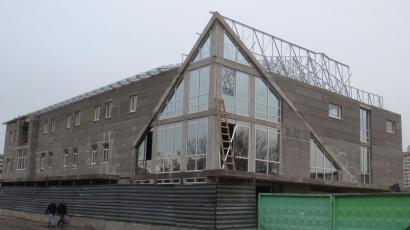 Крыша офисного центра г. Киев р-н  Оболонь