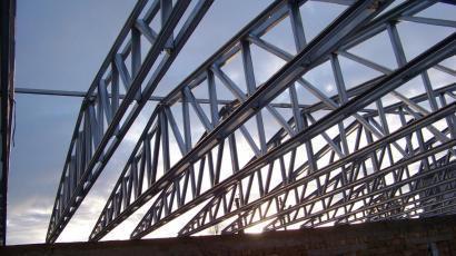 Крыша производственного помещения Крым