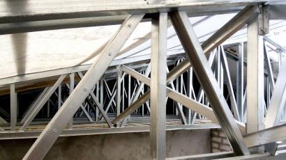Крыша токарного цеха г Черкассы