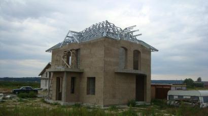 Крыша жилого дома с. Безрадичи Киевская обл.