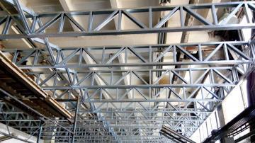 Конструкция подвесного потолка складского помещения г Черкассы